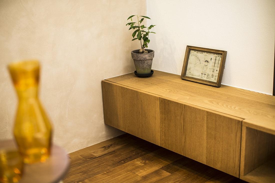 熊本で家を建てるなら愛住宅。熊本市西区城山 モデルハウスダイニングイメージ