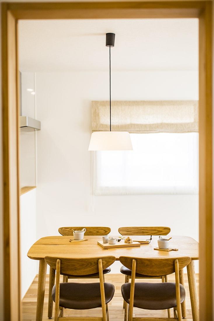 熊本で家を建てるなら愛住宅。熊本市北区梶尾町 モデルハウスリビング