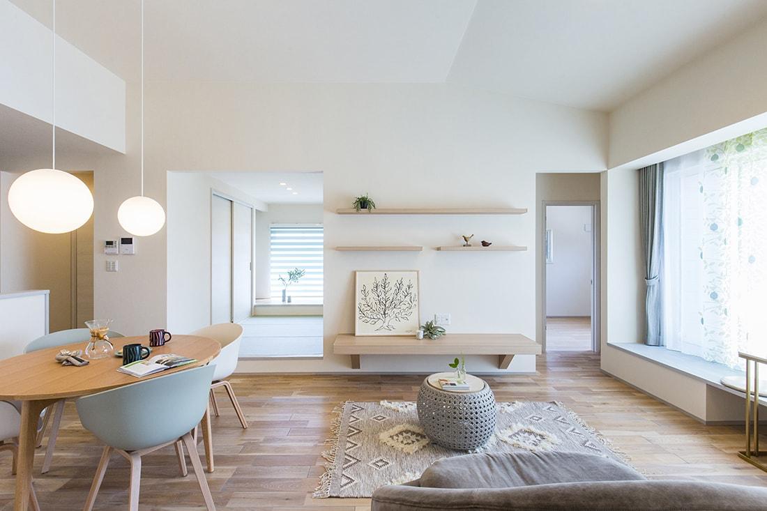 熊本で家を建てるなら愛住宅。嘉島町モデルハウス